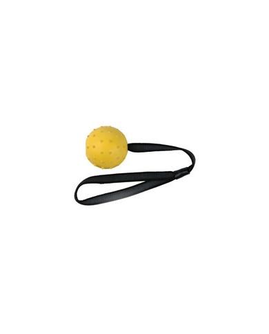 Pelota de goma con cinta (6cm x 30cm)