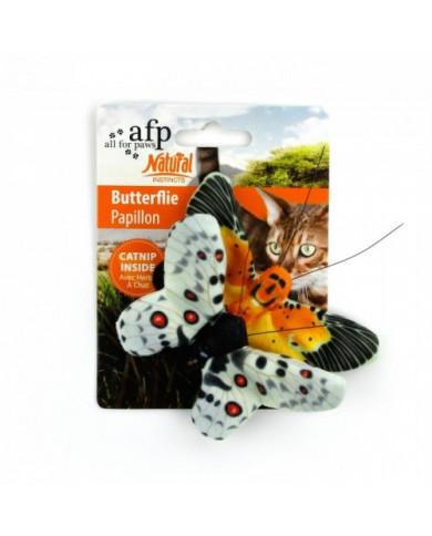Mariposa Juguete para Gato Natural Insticts con Catnip