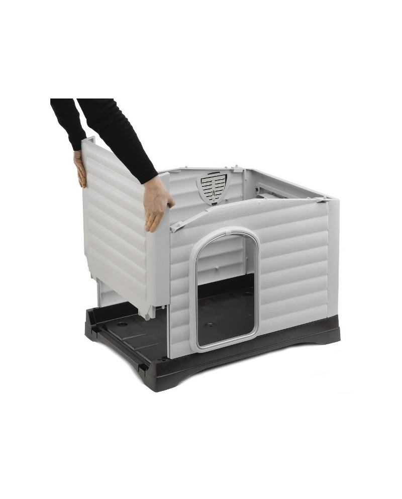 Caseta DogVilla con apertura lateral