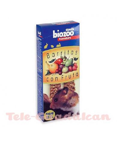 Barritas con frutas hamsters 112gr