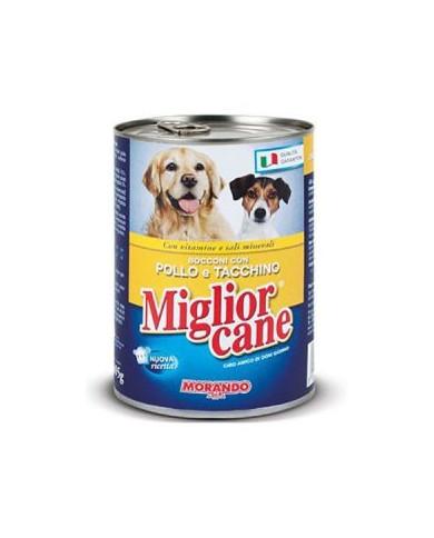 Miglio Cane con Pollo y Pavo (Lata) 405Gr