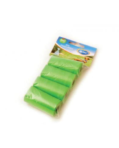 Bolsas biodegradables recoge excremente 4x20 und
