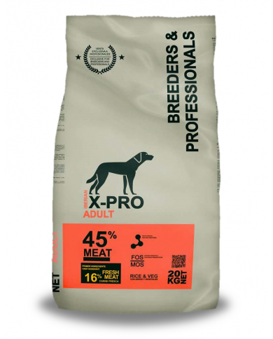 X-PRO Profesional Dog Adulto 20kg