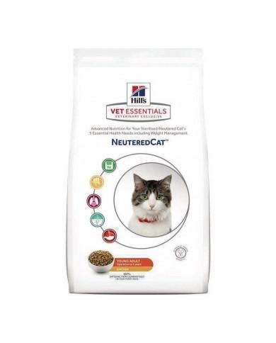 Hill's Vetessentials Feline Young Adult Neutered Cat Con Pollo