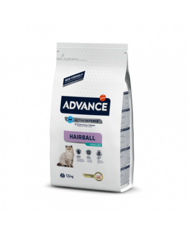 Advance Cat Adult Hairball 1.5Kg