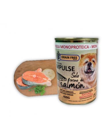 Impulse Dog Ternera 400gr Comida húmeda