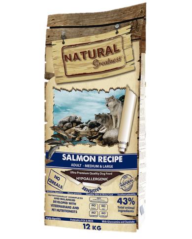 Natural Greatness Receta Salmón