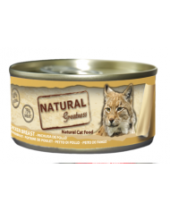 Natural Greatness Cat Pechga de Pollo lata 70gr