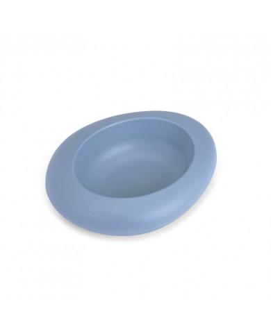 Comedero y Bebedero Ciottoli azul rellenable