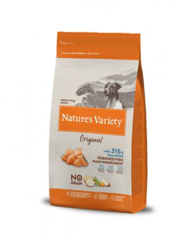 Natures Variety Original No grano Mini Salmón
