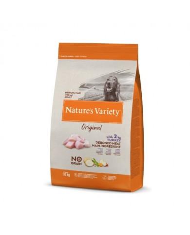 Natures Variety Original No Grano Medi/Maxi Pavo