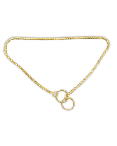 Collar de exposición Snake dorado