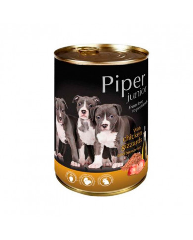 Piper Junior Pollo Molleja 400gr