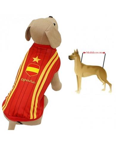 Camiseta de España para perros