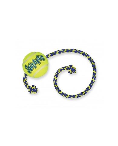 Air Kong squeaker Pelota de Tenis con cuerda