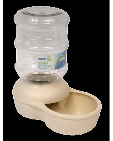 Bebedero lebistro crema 3.8 litros