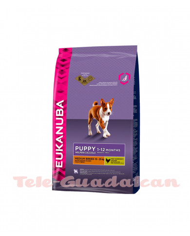 Eukanuba Puppy Razas&Medias 3kg