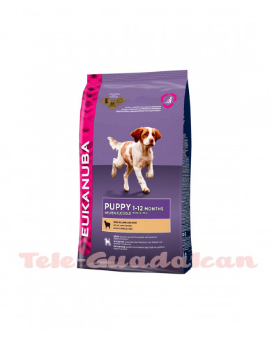Eukanuba puppy Cordero&Arroz 12kg