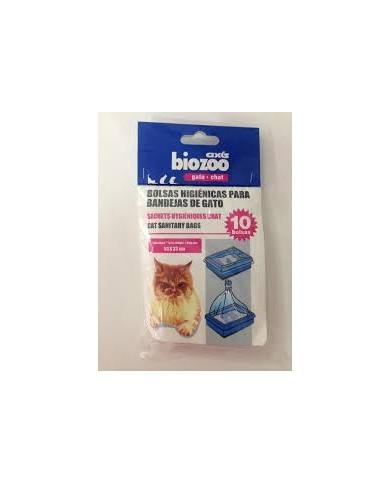 Bolsas Higiénicas Para bandejas de gato Biozoo