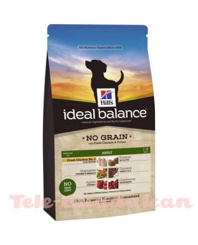 Hill's Ideal Balance Adult No Grain con pollo y patata 12Kg