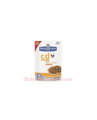 Hill's Feline Diet c/d (Bolsita) 12x85gr