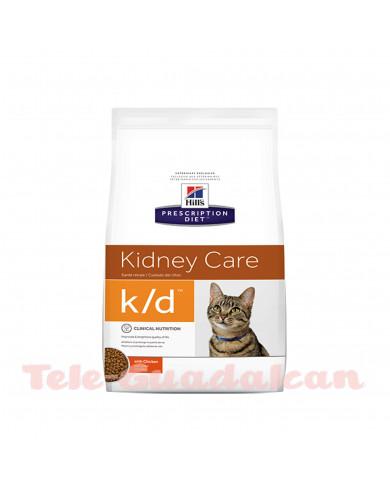 Hill's Feline Diet k/d (Bolsita) 12x85gr