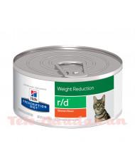 Hill's Feline Diet r/d (Lata) 24x156gr