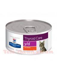 Hill's Feline Diet y/d (Lata) 24x156gr