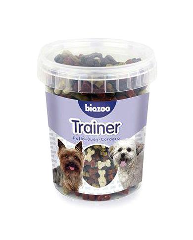 Premios para perros Trainer pollo buey y cordero 300gr