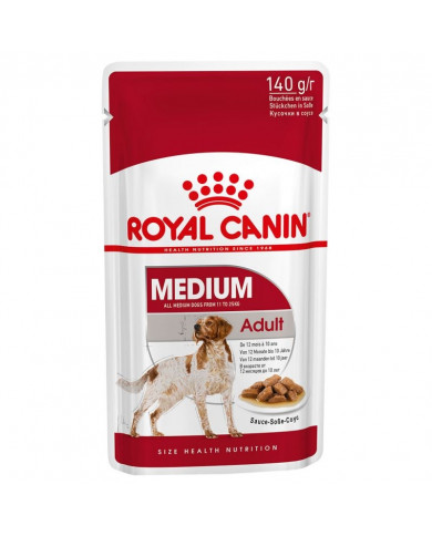 Royal Canin Medium Adulto Wet Salsa 140gr