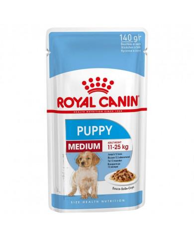 Royal Canin Medium Puppy Wet Salsa 140gr