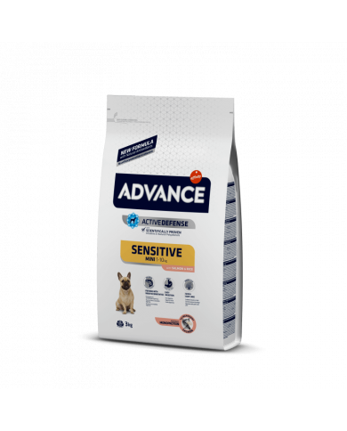 Advance Mini Sensitive con salmón 1.5kg