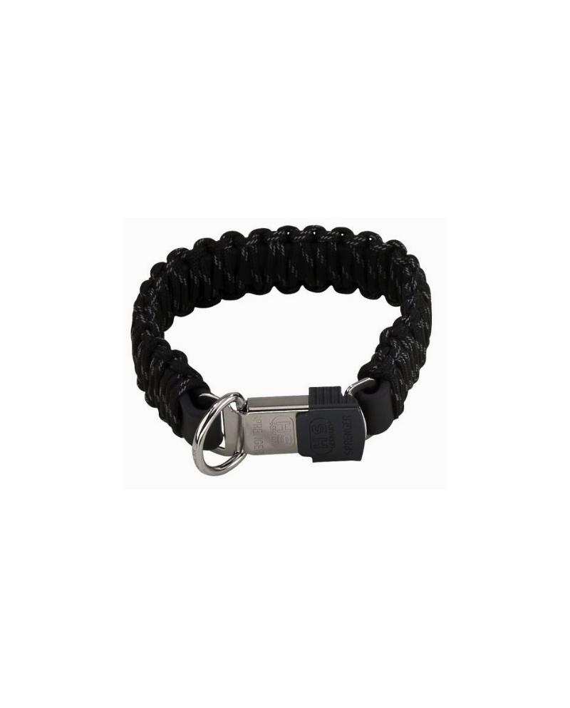 Sprenger Collar Paracaidista Negro cierre Lock